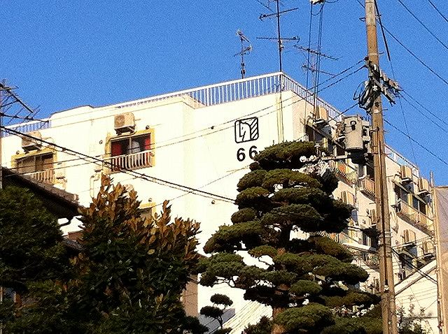 神戸市中央区北野町の賃貸物件外観写真